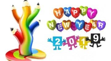 happy new year 2019 image