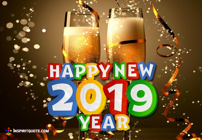 Happy New Year 2019 Shayari, Massages, Quotes, SMS, Status Romantic & Funny for Girfriend, Boyfriend & Family