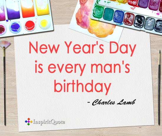 Charles Lamb new year quotes