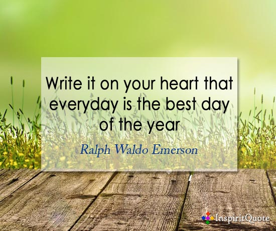 Ralph Waldo Emerson new year quotes