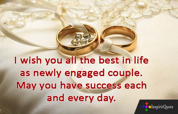 Engagement wishes quotes