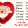 What Are The Lists Of Complete Valentine Week 2020