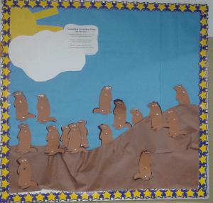 groundhog buleting board