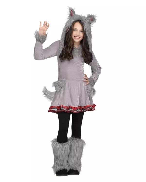 Wolf Child Costume Halloween Disguise