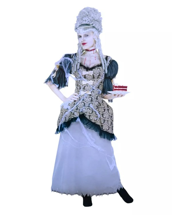 Marie Antoinette Ghost Costume Historical Costumes