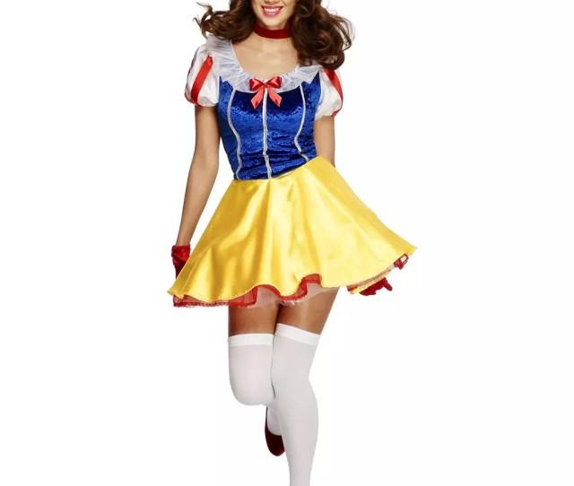 Sexy Snow White Costume With Petticoat Order Horror Shop Com