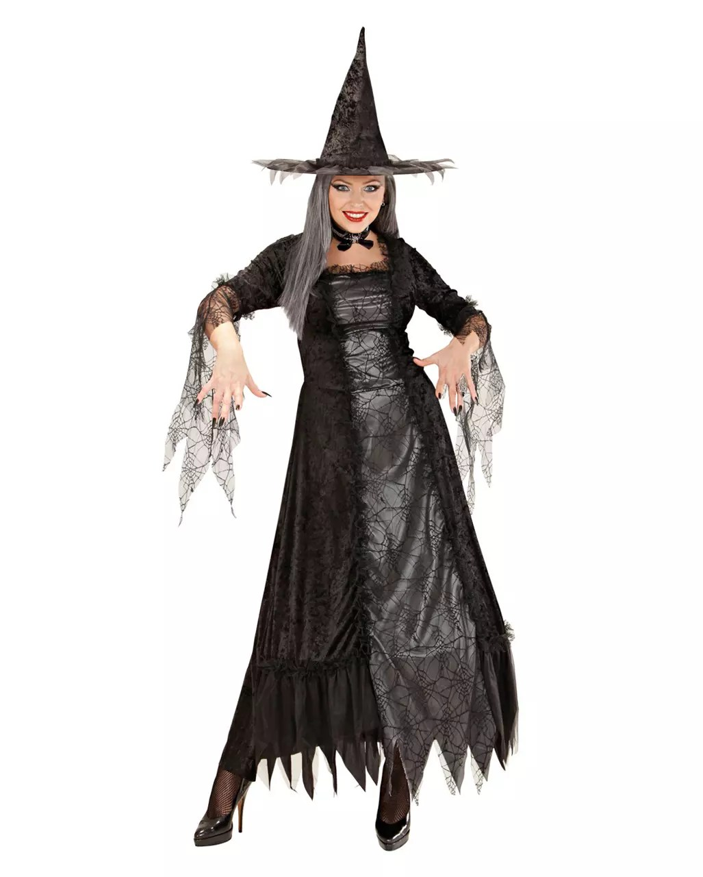 spider witch costume deluxe