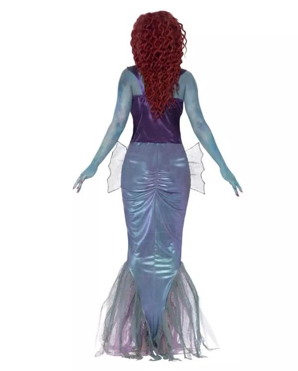 Zombie Mermaid Costume Creepy Siren Cover Horror