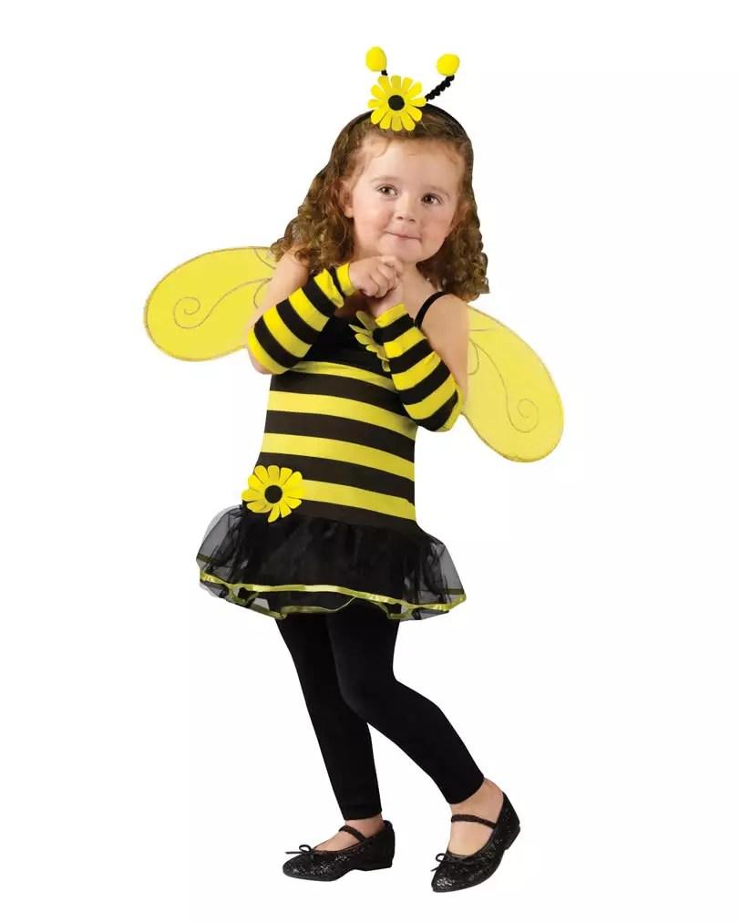 Biene Kostüm Kind Selber Machen Kostüm Nähen Für Karneval Biene
