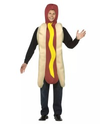 Hot Dog Sausage Costume for carnival | horror-shop.com