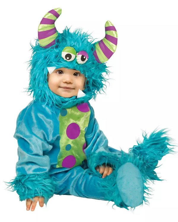 Blue Monster Baby Costume Halloween baby costumes cheap