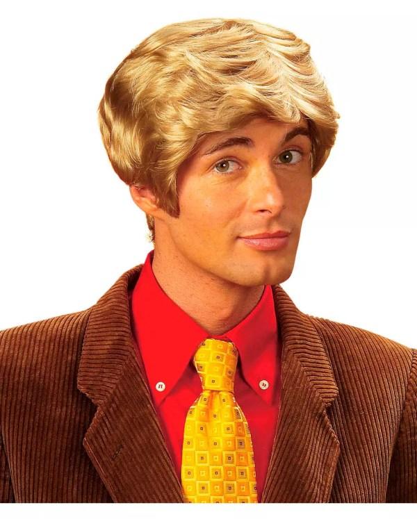 Mens Wig Heino Blonde Synthetic Hair Men