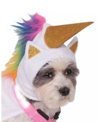 Light Up Unicorn Dog Costume For Halloween | horror-shop.com