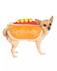 Hot Dog Dog Costume And more dog covers | horror-shop.com