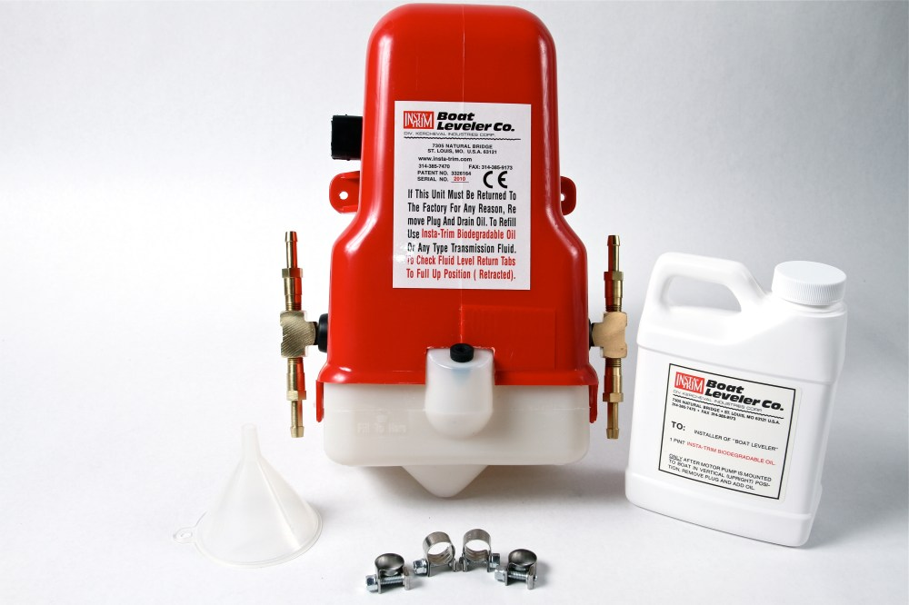medium resolution of 12 volt motor pump with tees for 4 cylinders hoses