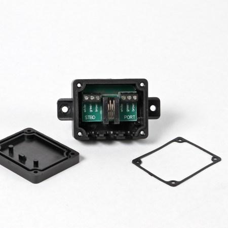 Y-CONNECTOR, BLACK JUNCTION BOX-0
