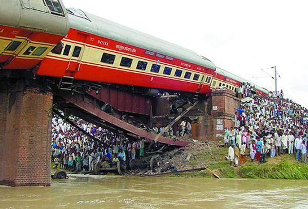 Rafigunj train disaster; 130 killed
