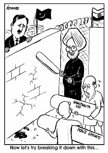cartoon manmohan invites gilani for wc TEdBR 34547