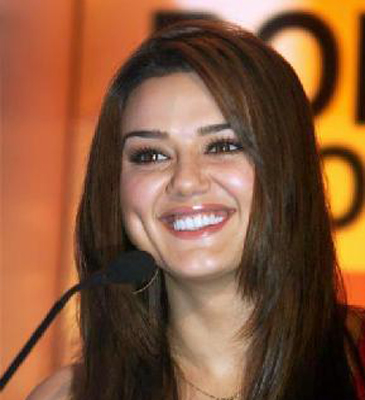 dimple trouble for preity