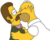homer and ned dkfMA 17844