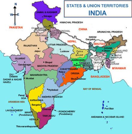 india state and centre 26
