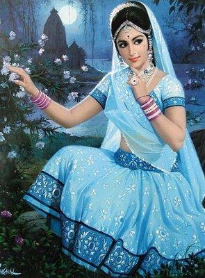 indian women paintings 4 crcdX 6943