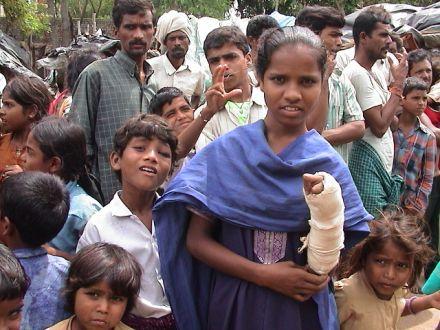 poor in slums india 26