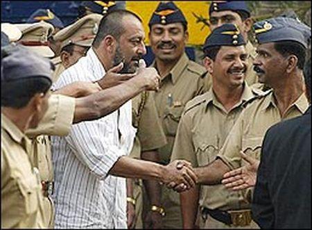 sanjay dutt released