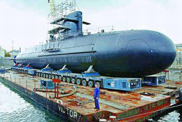 submarine india