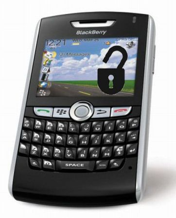 Unlocking Blackberry in India
