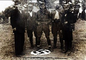 Chetniks_trampling_the_Nazi_German_flag