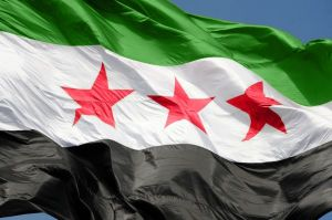 The_flag_of_Syrian_Arab_Republic_Damascus,_Syria1
