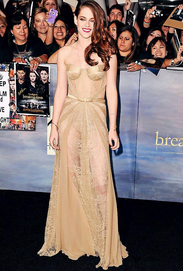 Kristen Stewart at the premiere of Breaking Dawn Part 2