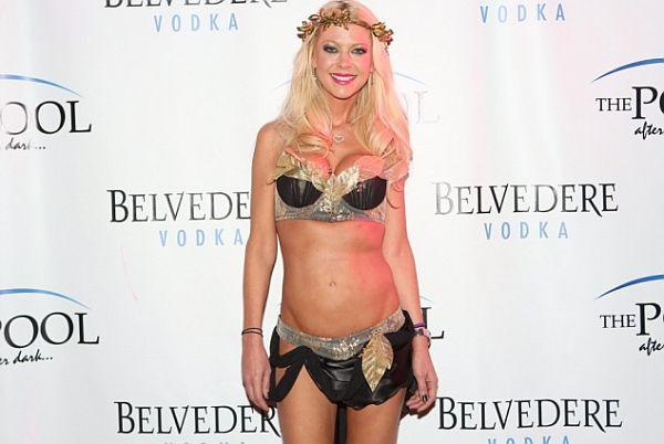 Tara reid's bizarre outfit