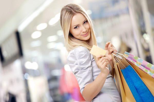 Shopaholic women