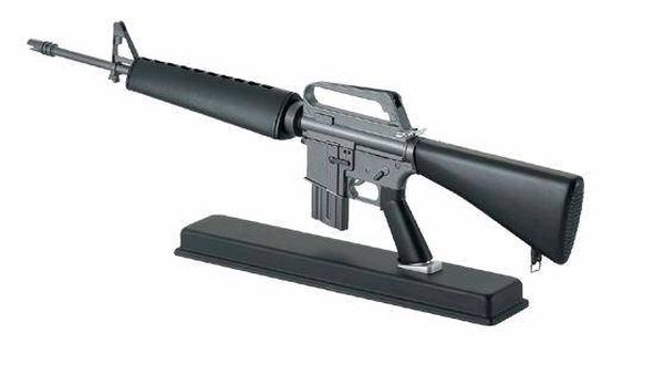 American M16 automatic rifles