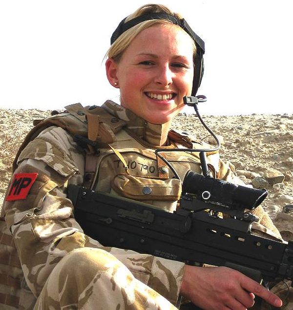 British female army