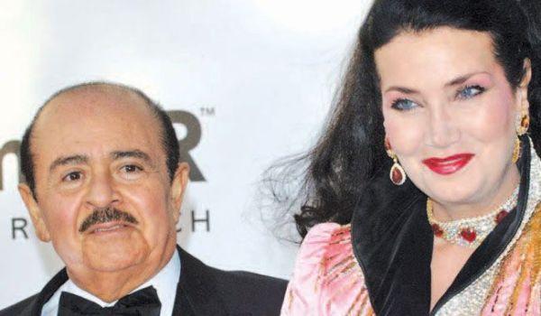 Adnan and Soraya Khashoggi