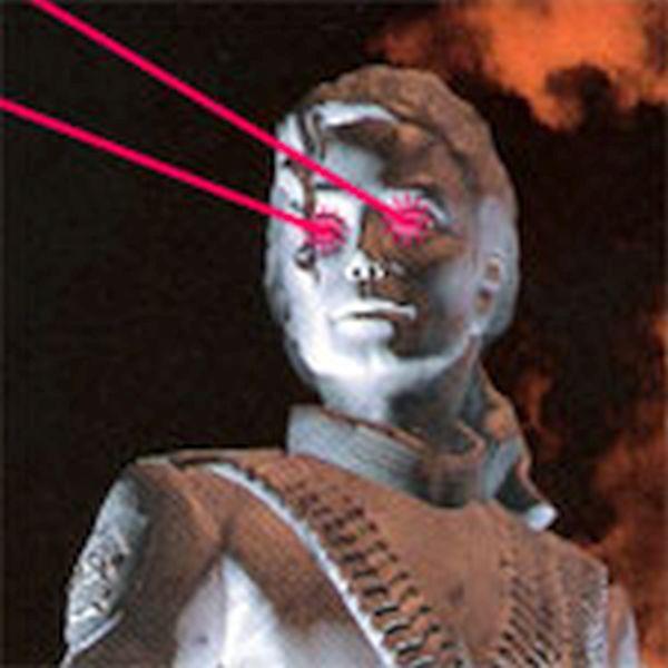 Las Vegas Laser Robot