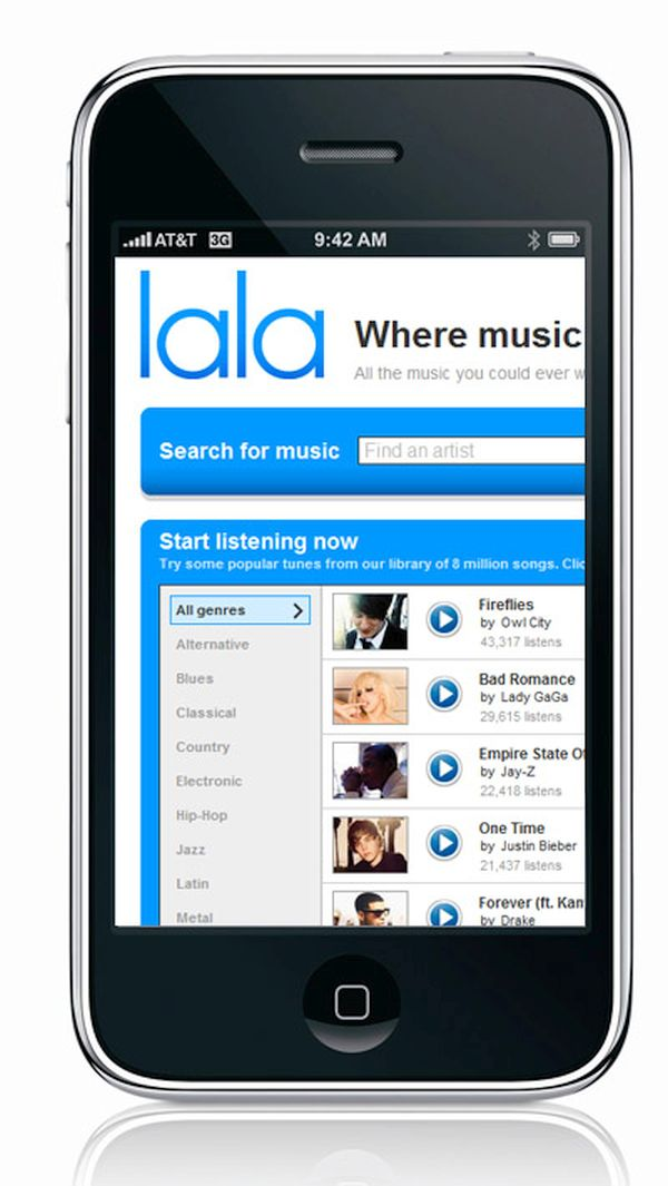 Apple and Lala Music