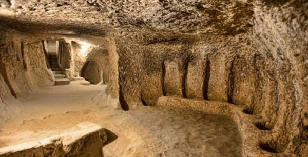 Central Anatolia's massive underground city