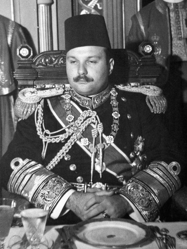 Egyptian King Farouk