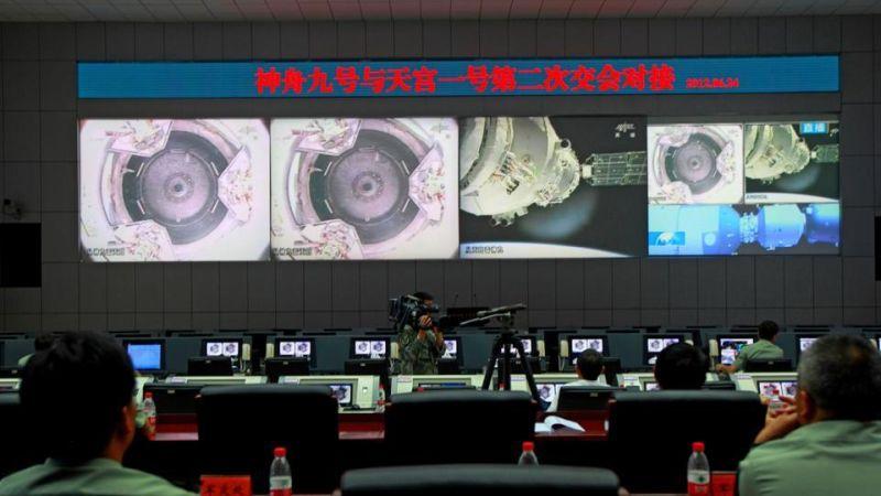 Tiangong 1 tracking