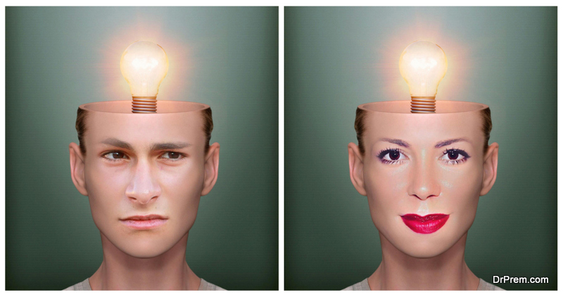 Men's and women's brains