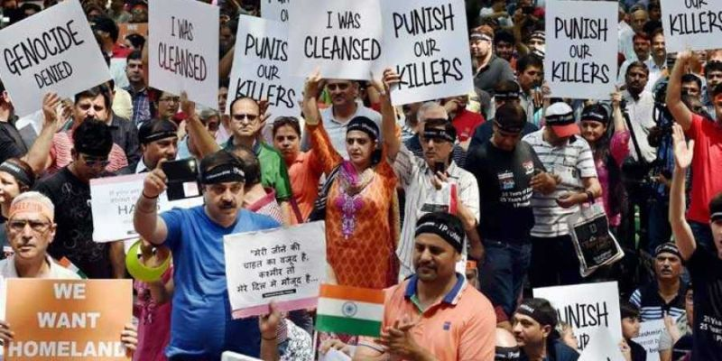 exiled community of Kashmiri Pandits
