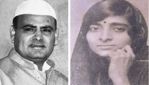 Feroze Gandhi and Kamala Nehru
