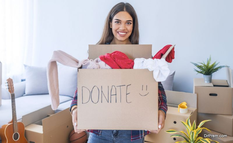 Organize Your Stuff for Donation Before Moving