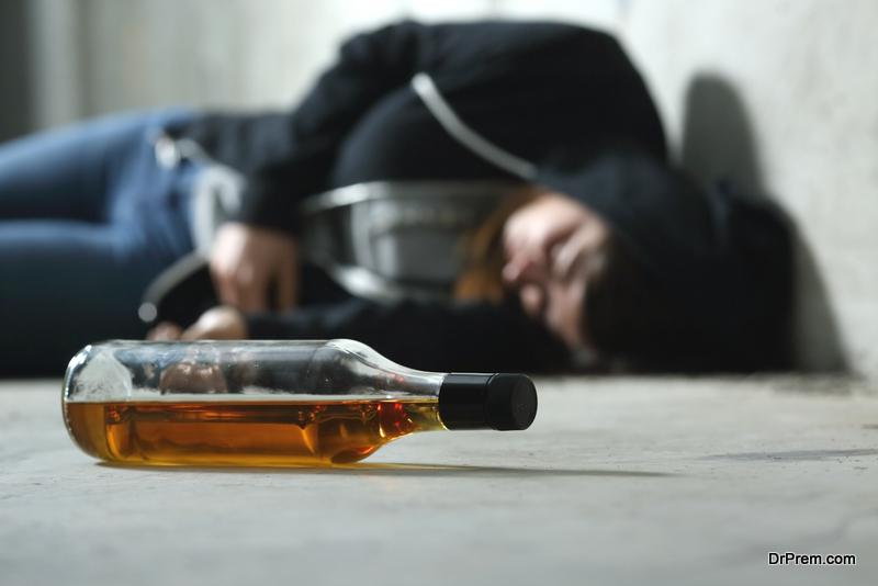 bad habits of smoking and drinking