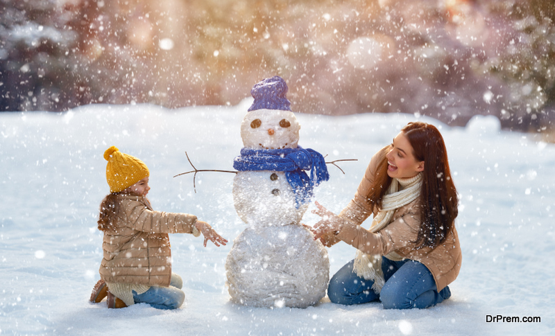 Spend Time with Your Family This Winter