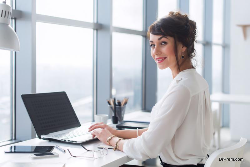woman employee